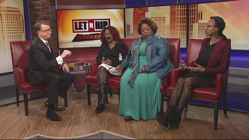 Let It Rip Weekend discussion on Human Trafficking