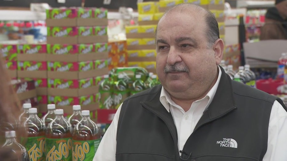 Sam Hamama, a grocer from Harper Woods