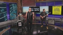 Sean Forbes performs on The Nine