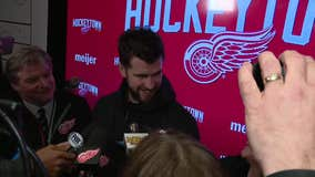 WATCH - Green, Larkin, Athanasiou, Blashill on Red Wings win over Montreal