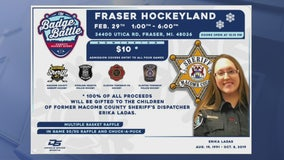 Charity hockey tournament to benefit family of Macomb County dispatcher killed in tragic crash