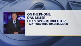 Reported rumor of QB Matthew Stafford trade is false, Dan Miller says