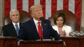 Pres. Trump uses State of Union to campaign; Pelosi rips up speech