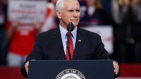 VP Mike Pence speaking today at Keep America Great event in Troy