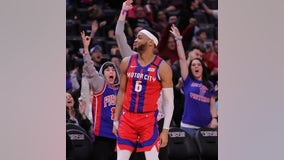 Pistons rally to beat Nuggets 128-123 in OT, snap skid