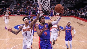 Drummond's big game lifts Pistons over Suns 116-108
