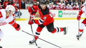 Blackwood, Simmonds lead Devils in 4-1 win over Red Wings