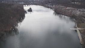 Drone Zone shows Huron River beauty in winter