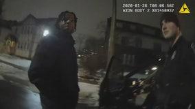 Body cam shows U-M basketball star Zavier Simpson lie to police after crash