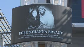 Thousands attend public memorial for Kobe, Gianna Bryant at Staples Center