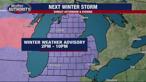 Another 2-3 inches of snow for SE Michigan, 4 inches possible for some