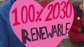 Protesters upset with long term energy plan submitted by DTE