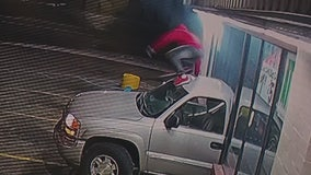 Video shows thieves abandon truck after failed snatch-and-grab at Detroit liquor store