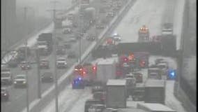 I-75 southbound reopened after semi rollover near Rouge River bridge