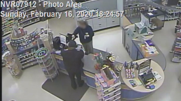 Man wanted after armed robbery at Rite Aid in Indepencence Township