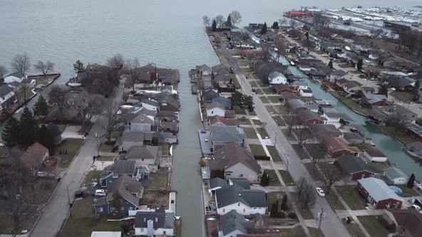 As Great Lakes rise, Michigan residents face giant climatological test