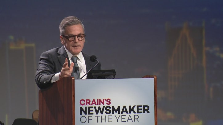 Dan Gilbert makes first public appearance after stroke at Crain's awards