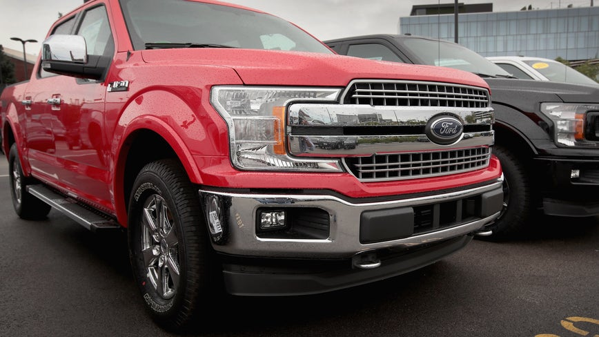 Ford recalls popular F-150 pickups to fix headlamp problem