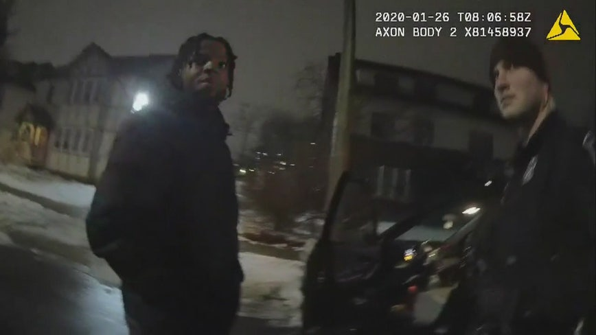 Body cam shows U-M basketball star Zavier Simpson lie to police after crash