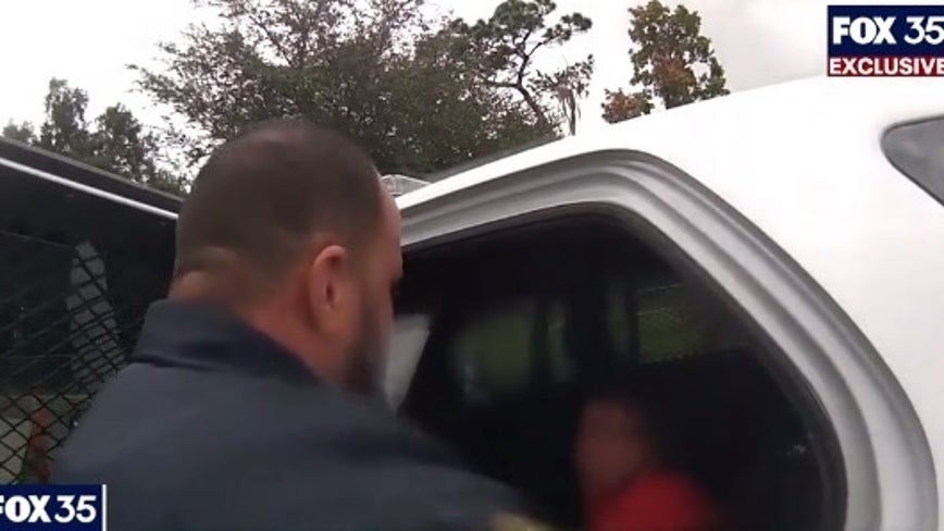 Police body camera video shows arrest of 6-year-old Orlando girl
