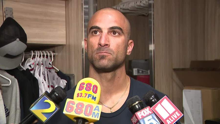 WATCH - Braves outfielder Nick Markakis on the Astros cheating scandal