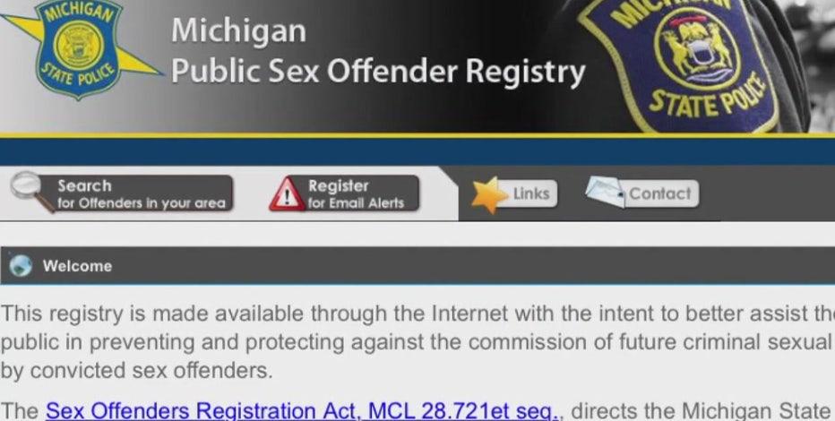 Public sex offender records