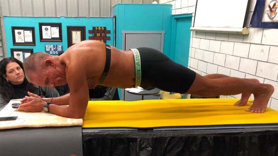 planking record