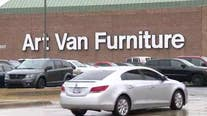 'Total Inventory Blowout' sale beginning at select Art Van locations July 2
