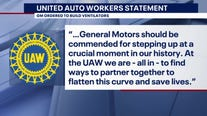 GM says it has been working for weeks to meet ventilator demand amid Trump attacks