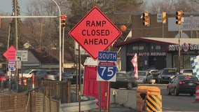 Bridge closure project on I-75 in Hazel Park could be traffic nightmare