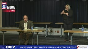 Detroit Mayor Mike Duggan announces Chief James Craig has coronavirus