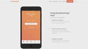 NeedAnything App allows you to help your neighbors if you're headed out
