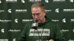 WATCH - Tom Izzo Previews Penn State
