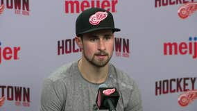 WATCH - Red Wings discuss loss to Hurricanes