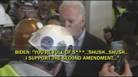 Wayne County man confronts Biden on guns, told he's full of sh**
