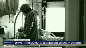 City of Detroit to begin drive-thru testing Friday