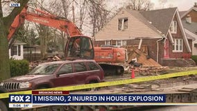 Gas leak to blame for house explosion on Detroit's west side