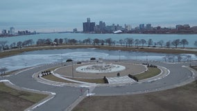 Drone Zone: The Belle Isle Fountain