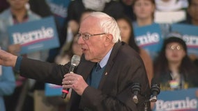 Sanders rally in Ann Arbor draws over 10,000 Sunday