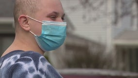Friends hold drive-by birthday celebration for Wyandotte teen who beat cancer
