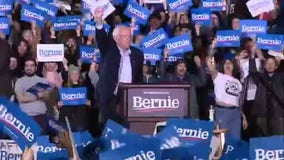 Bernie Sanders tries to turn the Biden tide at electric Detroit rally