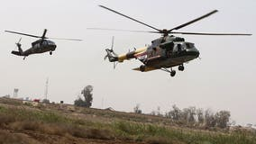 Officials: US airstrikes underway against Iran-backed militia group that hit Iraq base