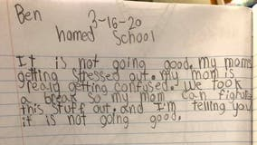 Boy roasts mom in hilarious journal entry on first day of homeschooling: 'It is not going good'