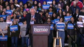 Watch: Bernie Sanders speaks at Detroit rally, makes push for Tuesday's primary
