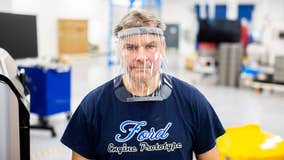 Ford Motor Co delivers nearly 3,000 face shields to hospitals on COVID-19 front lines