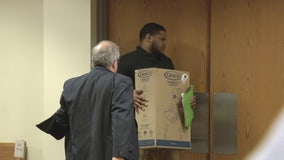 Auburn Hills dad accused of driving drunk with boy in back seat on closed I-75 shows up to court with car seat