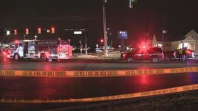 Woman killed, hit by car when crossing Hall Road overnight