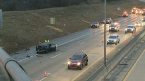 12-year-old boy, woman hurt after rear-ending semi on I-94