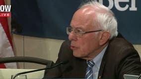 Bernie Sanders holds coronavirus roundtable in Detroit