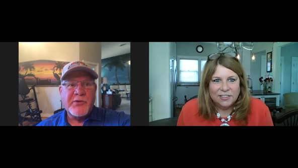 WATCH - Jennifer Hammond spends some time with Tigers skipper, Ron Gardenire